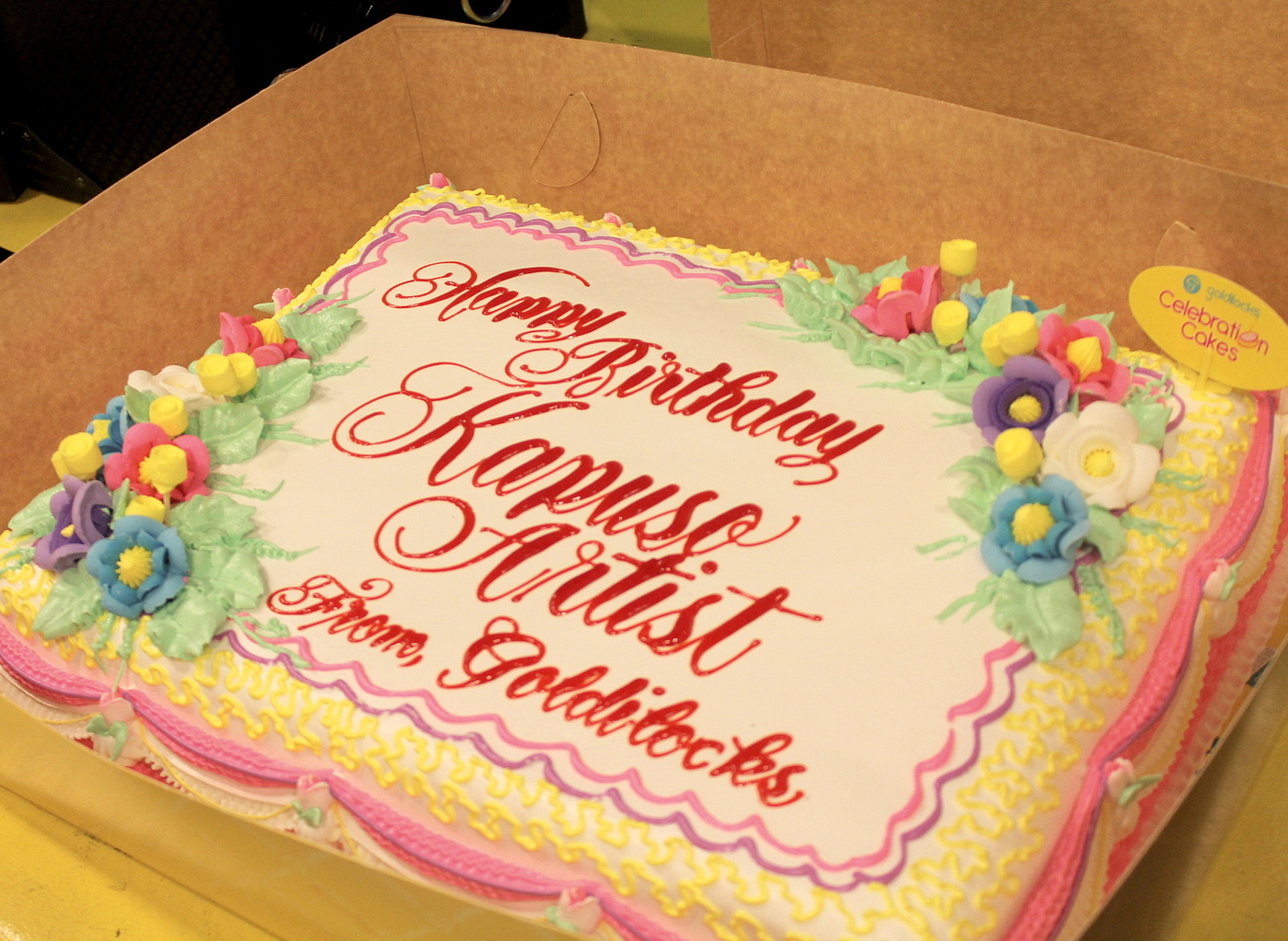 The Lifestyle Hub A Day at the Goldilocks Cake Plant with GMA 7s