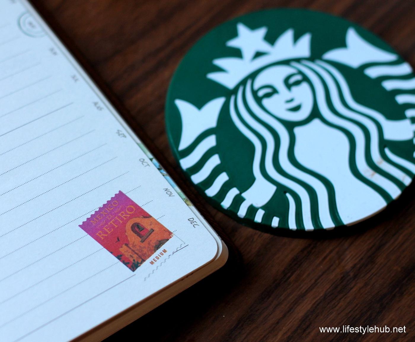 Starbucks 2015 planner