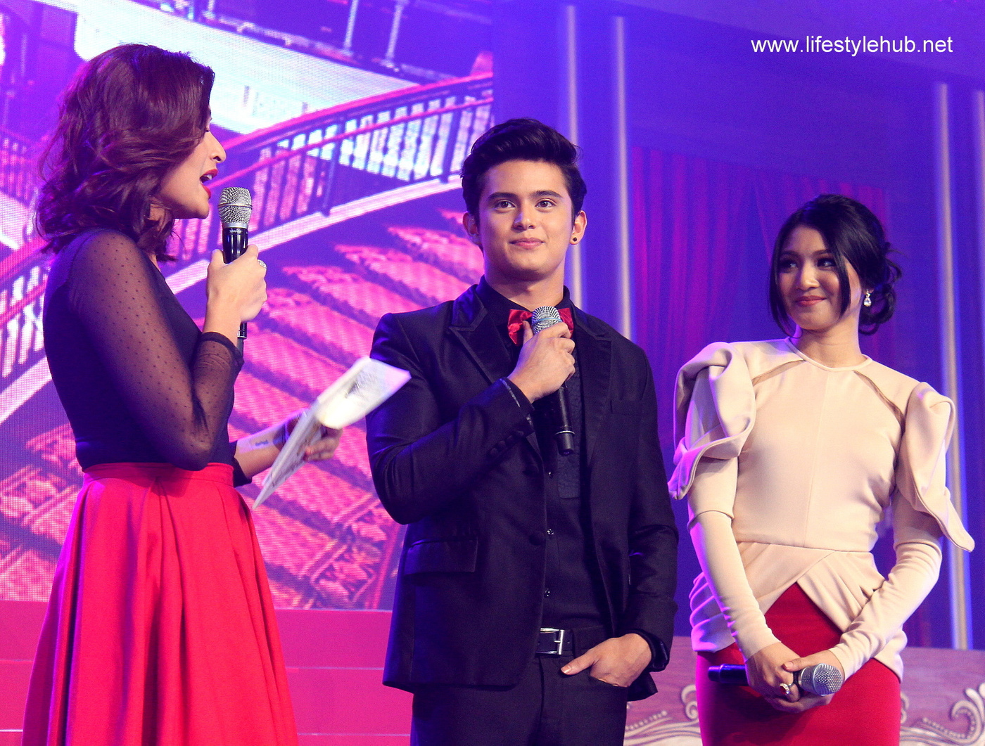 cherry mobile captains night kim chiu anne curtis james reid nadine lustre jadine