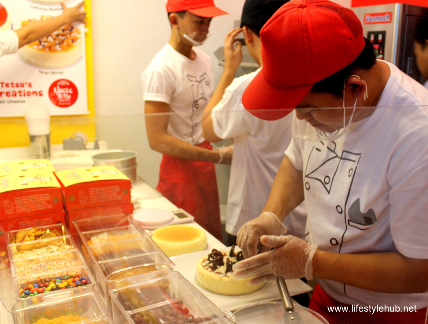 uncle tetsu mall of asia opening