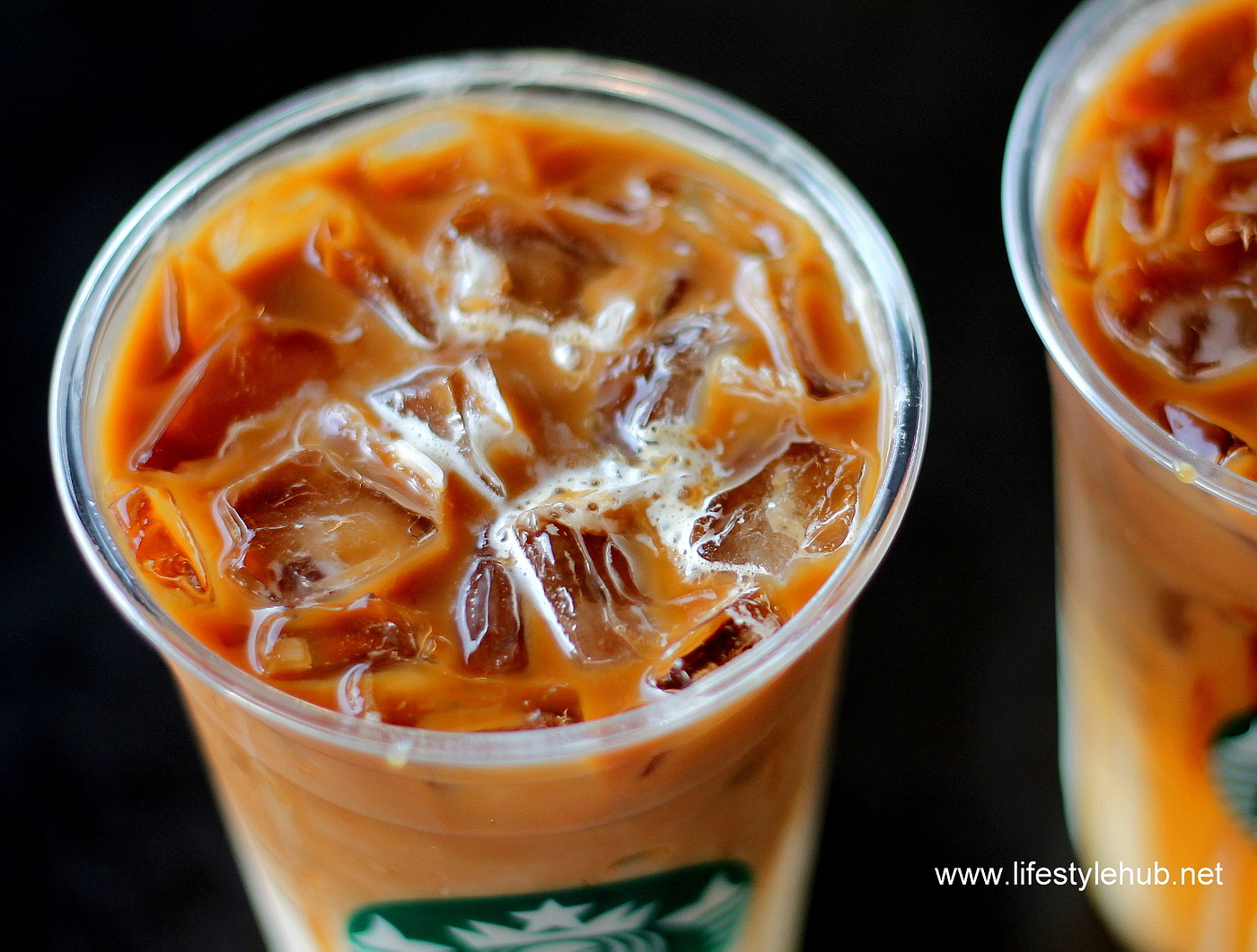 starbucks iced coffee caramel and hazelnut 2015