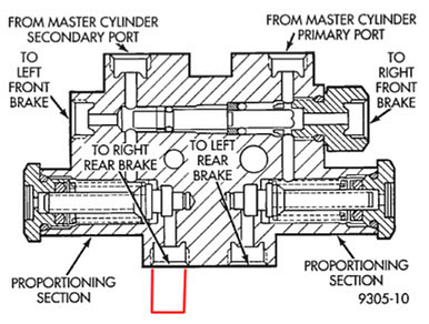Трубка с штуцером схема