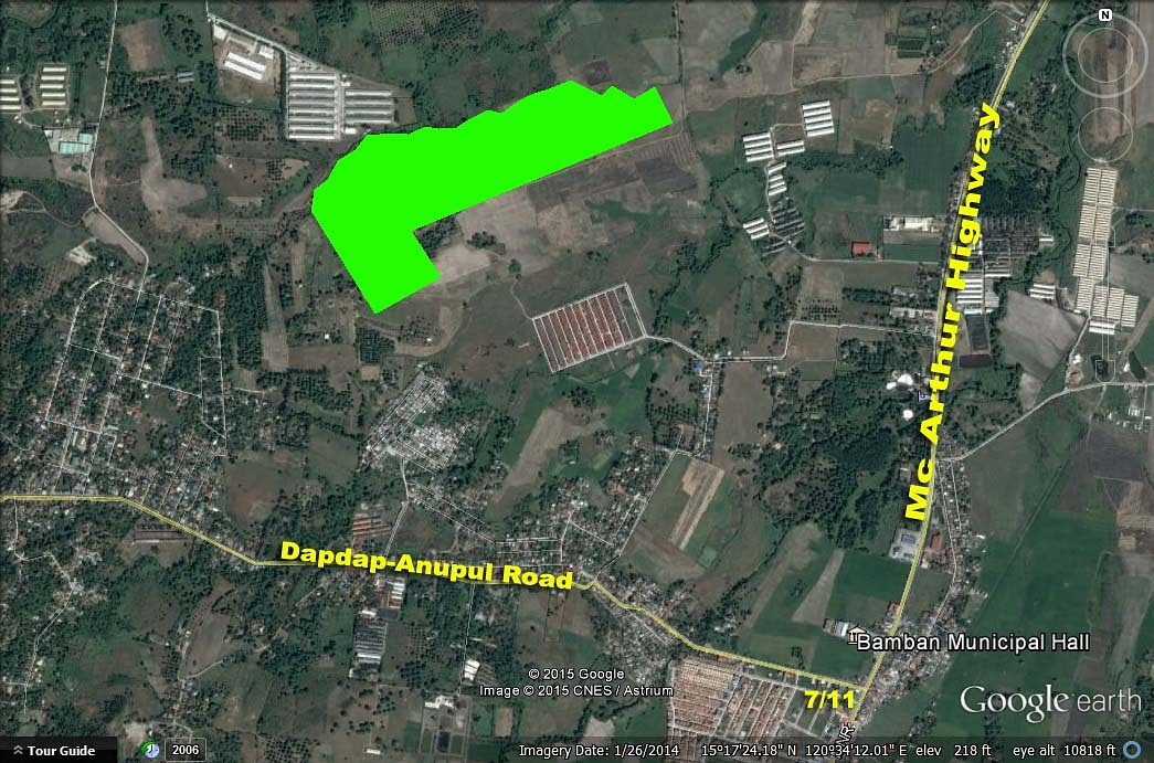 Farm for Sale Bamban Tarlac Ref# 0000672