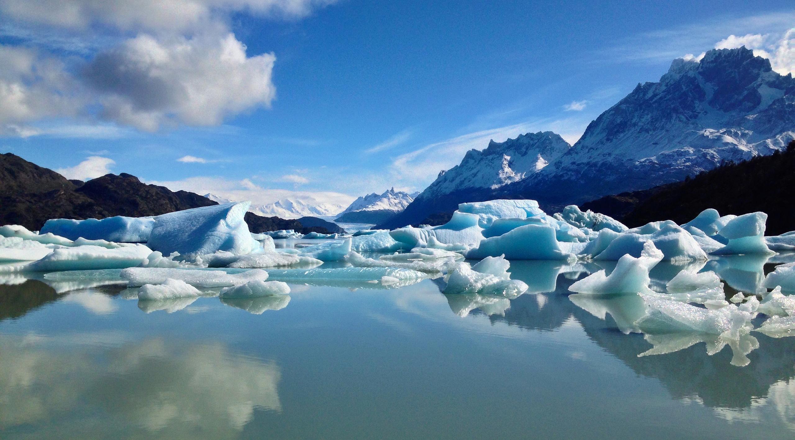 Torres Glacier Lake