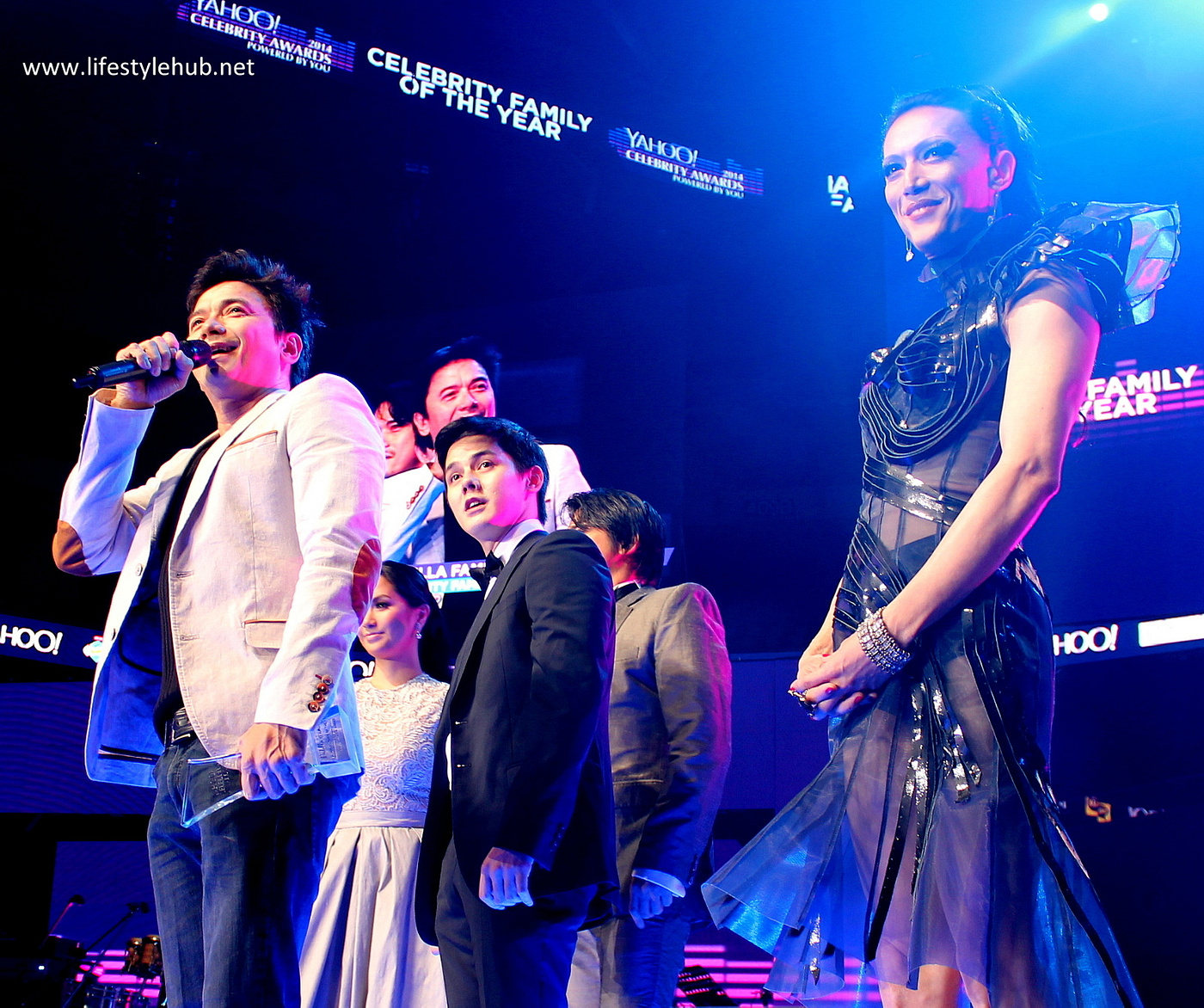 padilla celebrity family of the year