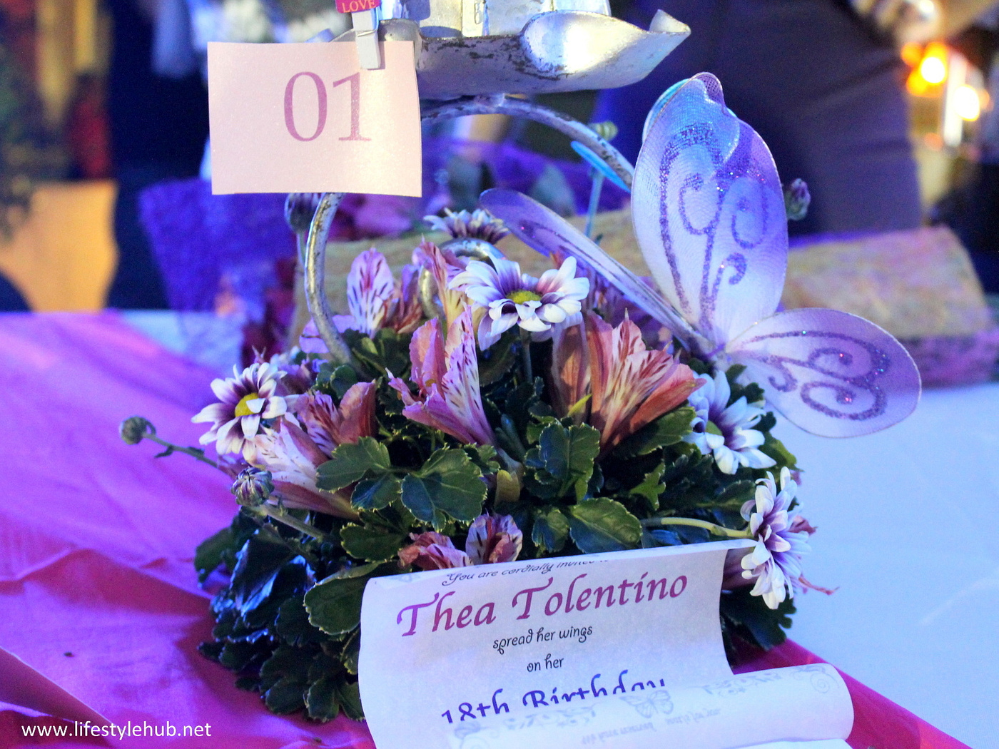thea tolentino 18th birthday, debut