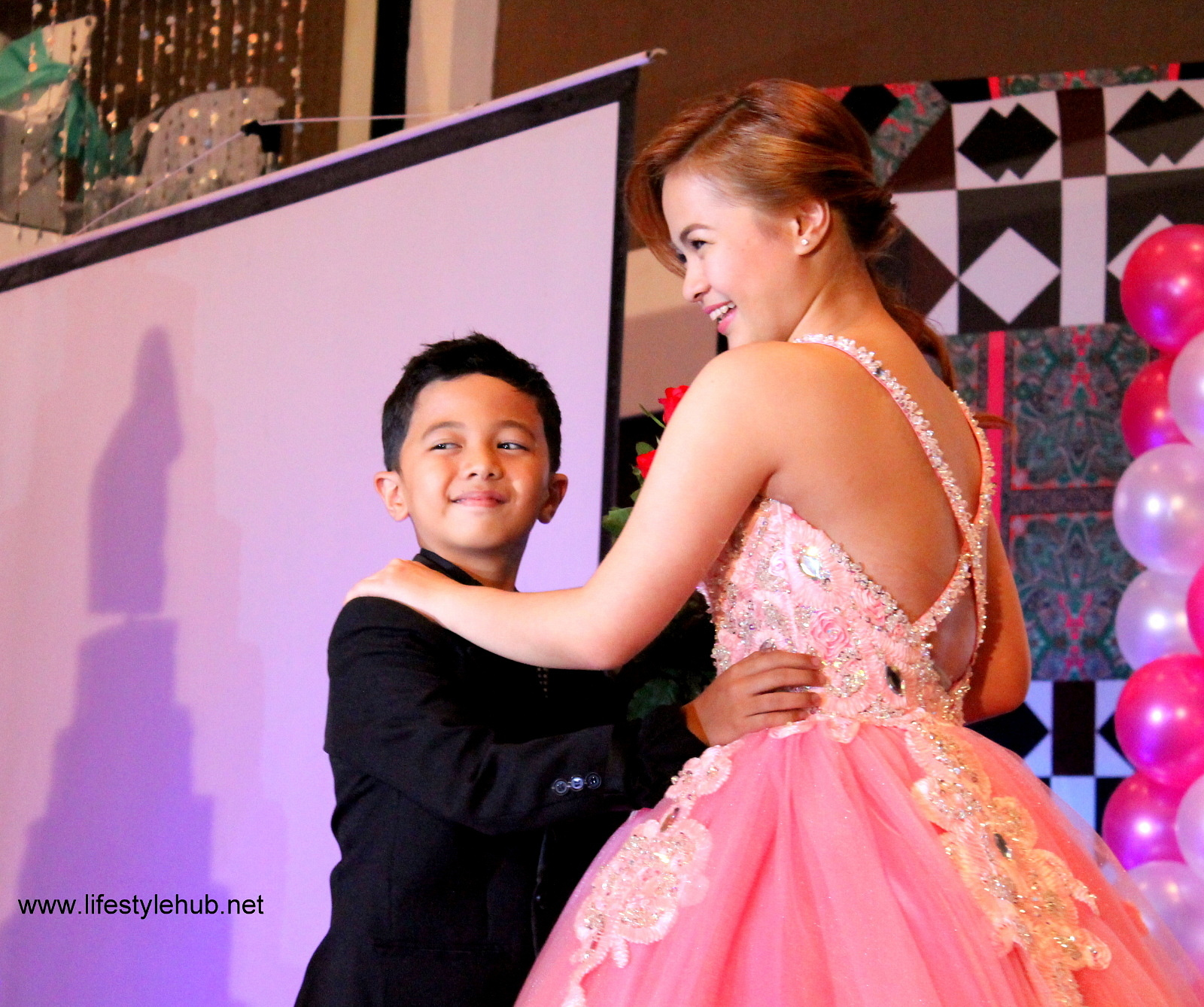 krystal reyes 18th birthday with kapuso celebrities