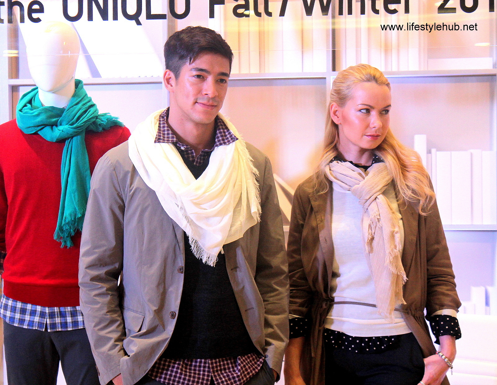 Uniqlo heattech extra warm line at mega mall fashion hall